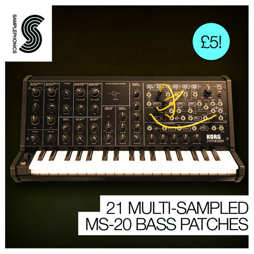 MS-20 Bass Demo