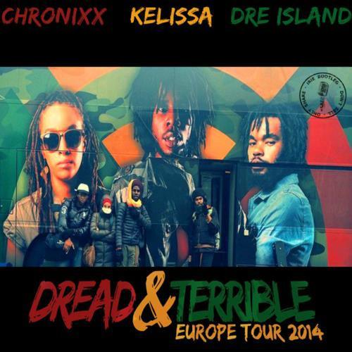 Kelissa Live @ Dread & Terrible Tour, Germany 2014