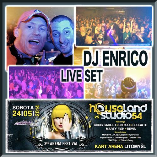 DJ Enrico - Live@Houseland - Litomyšl - 25.5.2014