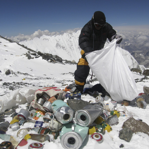 The mess on Everest, and how to clean it up