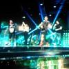 J-Ax, Fedez, Emis Killa e Noemi at The voice of Italy