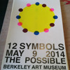 12 SYMBOLS/LIVE PERFORMANCE/BERKELEY ART MUSEUM
