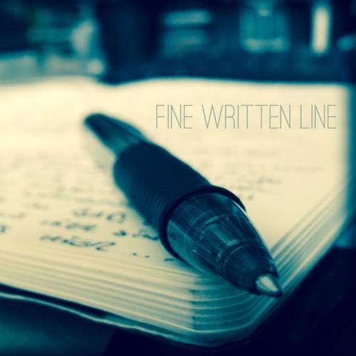 Fine Written Line