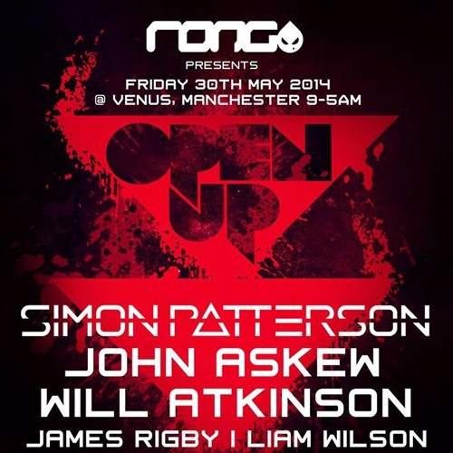 JOHN ASKEW - LIVE @ RONG Presents OPEN UP - MANCHESTER (30-05-2014)