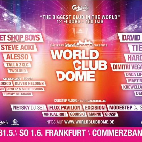 Talla 2XLC in the mix World Club Dome Commerzbankarena Frankfurt June 1st 2014