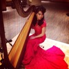 Tong Hua [cover] - Harp Solo by Maria Pratiwi