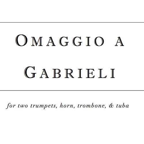 Omaggio a Gabrieli (2008)