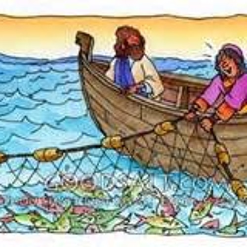 Jesus Catches some Fish for a Start