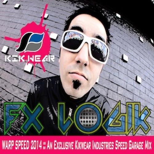 FREE DOWNLOAD of Fx Logik - Warp Speed 2014 :: An Exclusive Kikwear Industries Speed Garage Mix