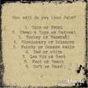 2014.06.02 Quiz #1 Answers