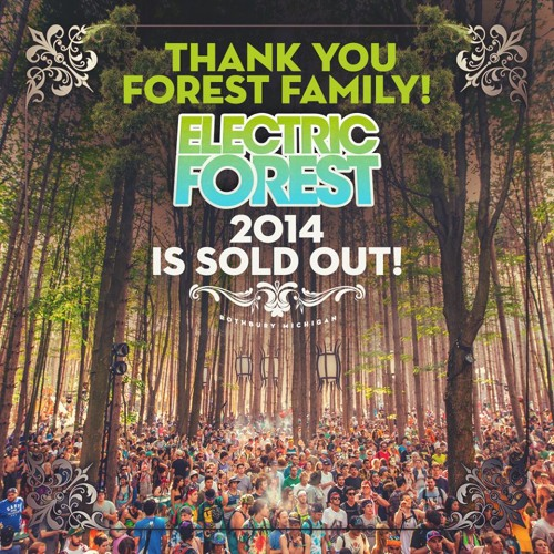 Golf Clap - Electric Forest Mix - June 2014