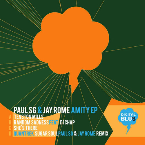 QUANTREK - SUGAR SOUL (PAUL SG & JAY ROME RMX. ) - AMITY EP   ( DIGITAL BLUS 010 PREVIEW )