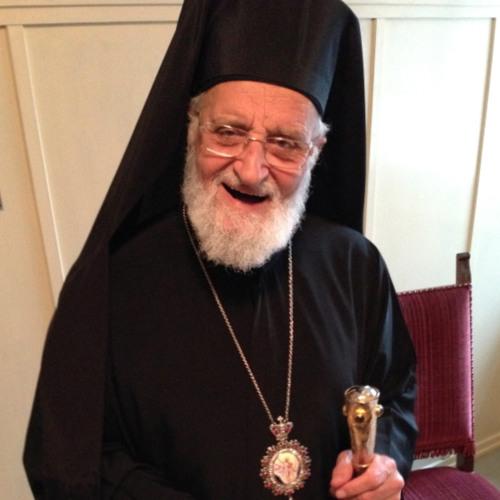 Weltformat mit Patriarch Gregorios III. von Antiochien