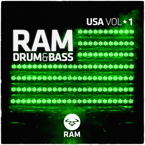 RAM DRUM & BASS USA VOL1 (Mixed By Mind Vortex)