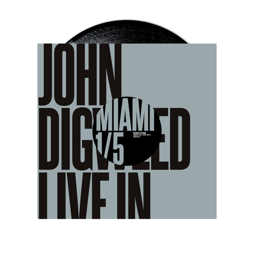 John Digweed - Live in Miami Vinyl 1