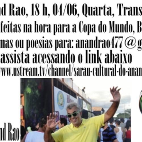 Sarau do Anand Rao - Especial para a Copa - Parte 3