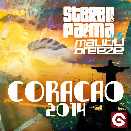 PREVIEW Stereo Palma vs Malibu Breeze - Coracao 2014 (Stereo Palma Summer Of 2014 mix TEASER)