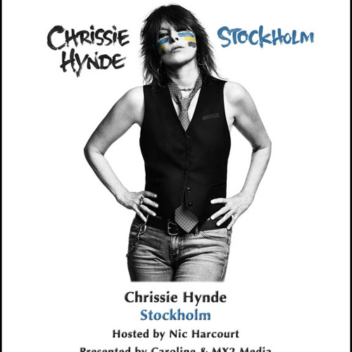 Chrissie Hynde Stockholm hosted by Nic Harcourt
