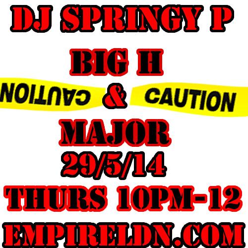 Last week set DJ SPRINGY P / BIG H / MAJOR / BLOODLINE FAM EMPIRELDN.COM
