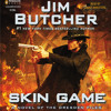 Skin Game by Jim Butcher, read by James Marsters