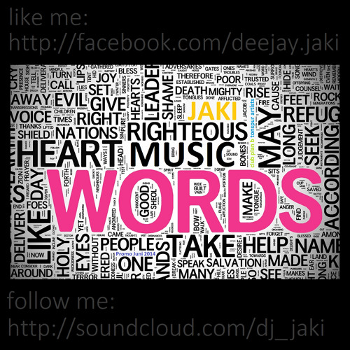 JAKI [tonspur artists] - Words (Promo Juni 2014)