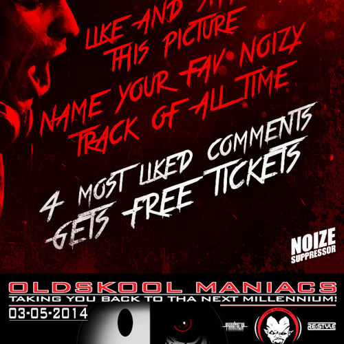 NOIZE SUPPRESSOR @ OLDSKOOL MANIACS - MILLENNIUM NIGHT
