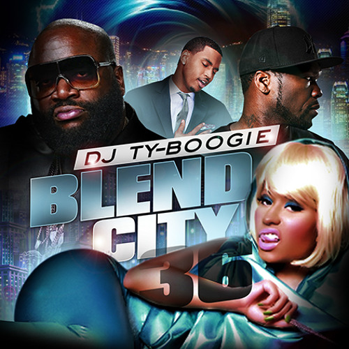 "DJTYBOOGIE PRESENTS  ""BLEND CITY 36"""