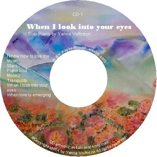When I Look Into Your Eyes -CD1