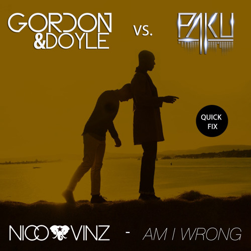 Nico & Vinz - Am I Wrong (Gordon & Doyle vs. PaKu Quick Fix)