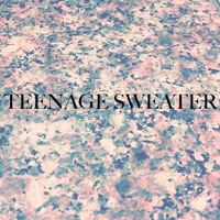 Teenage Sweater Young Glitter Artwork