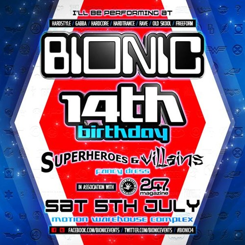 BIONIC 14TH BIRTHDAY PROMO MIX - TOM WALKER