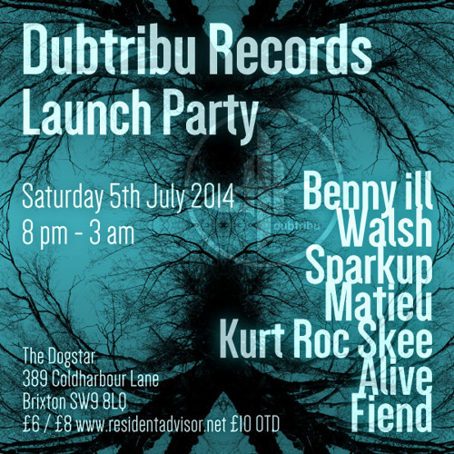 Copley - Overdose // (free download) Dubtribu Records Launch Party 5th July