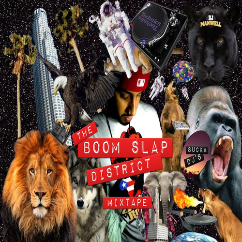 Dj Manwell Mixtape (The Boom Slap District)