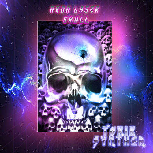 Neon Laser Skull