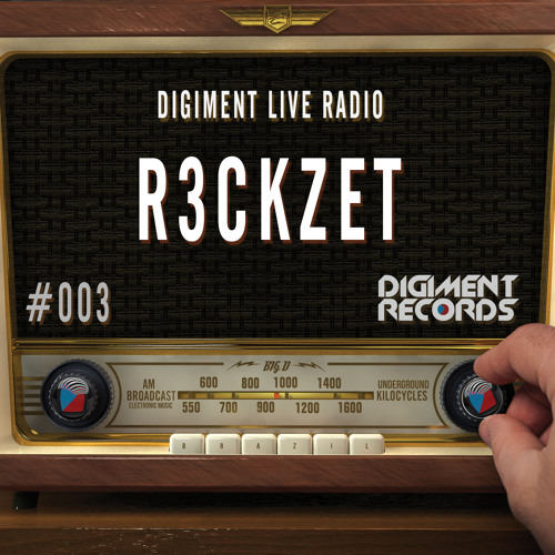 Digiment Live Radio #003 - R3ckzet