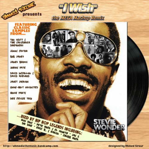 "SOULBOUNCE WORLD PREMIERE - Stevie Wonder: ""I Wish (Ahmed Sirour's MEGA Mashup Remix)"""