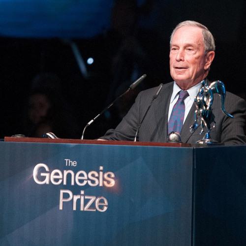 Mike Bloomberg Awarded Inaugural Genesis Prize