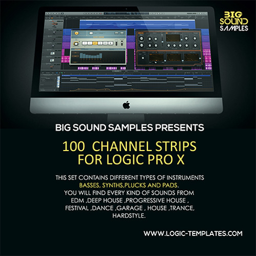 Channel Strips for Logic Pro X