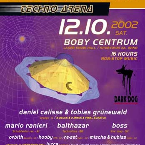 Colosseum Techno Arena @ Boby Centrum Brno, Czech Republic 12.10.2002