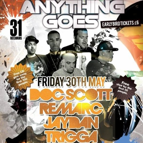 Noizee B & Ruption @ Anything Goes #5