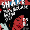 Stephen Adams Shake Mix July 5th Special guest Sean McCabe
