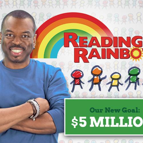 LeVar Burton on Reading Rainbow Redux, Students on College Prep