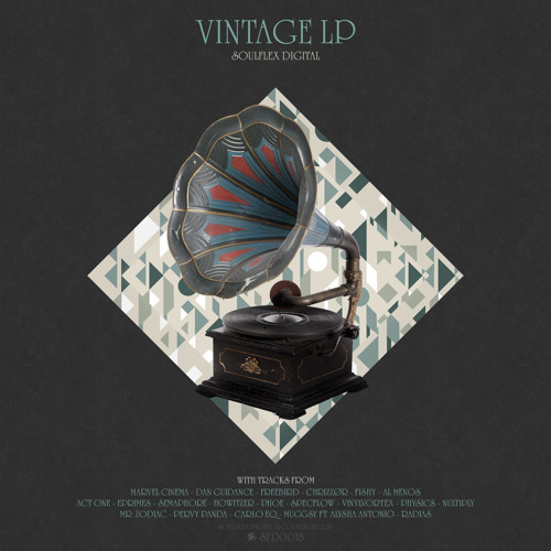 SFD0018 - Nultiply - Sun Down - Vintage LP
