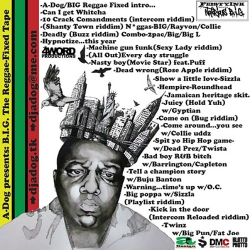 Notorious B.I.G. - The Reggae Fixed Tape 22 - ALL OUT Everyday Struggle (A - Dog Re - Fix)