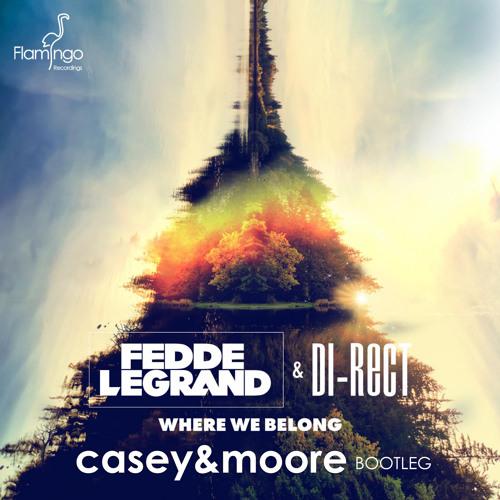 "Fedde Le Grand & DI-RECT - Where We Belong (Casey & Moore Bootleg) ""FREE DOWNLOAD"""