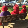 Kirstyn March spoke with the Queen (Of Red Hatters for Kalgoorlie)