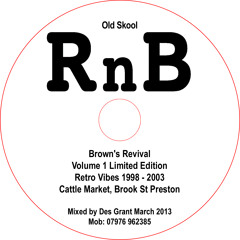 RnB Old Skool 'Browns' Retro Classics 1998-2003