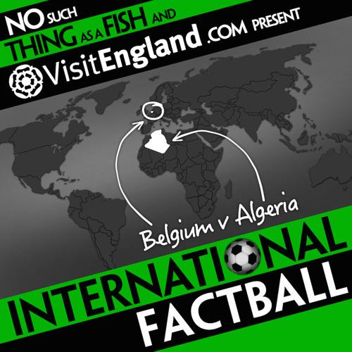 NSTAAF International Factball: Belgium v Algeria