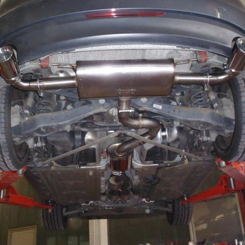 Audi TT 8J 3.2l V6 Quattro 70mm Anlage mit Fächerkrümmer und Sport-Kats.