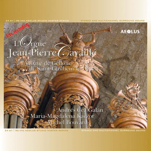 L'Orgue Jean-Pierre Cavaillé à Saint-Guilhem le Désert (F)